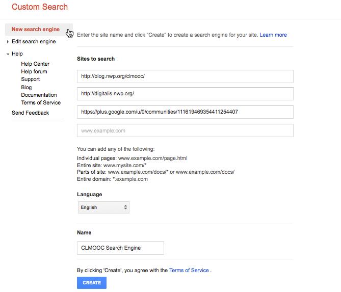 CLMOOC-Search-Engine
