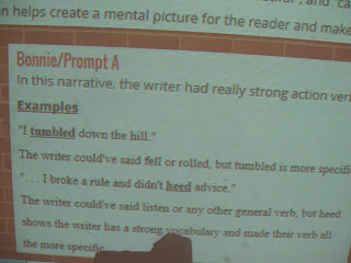 Using Padlet to respond to Writing