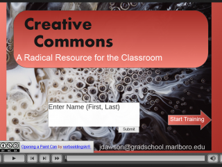 Creative Commons: A Radical Resource for the Classroom